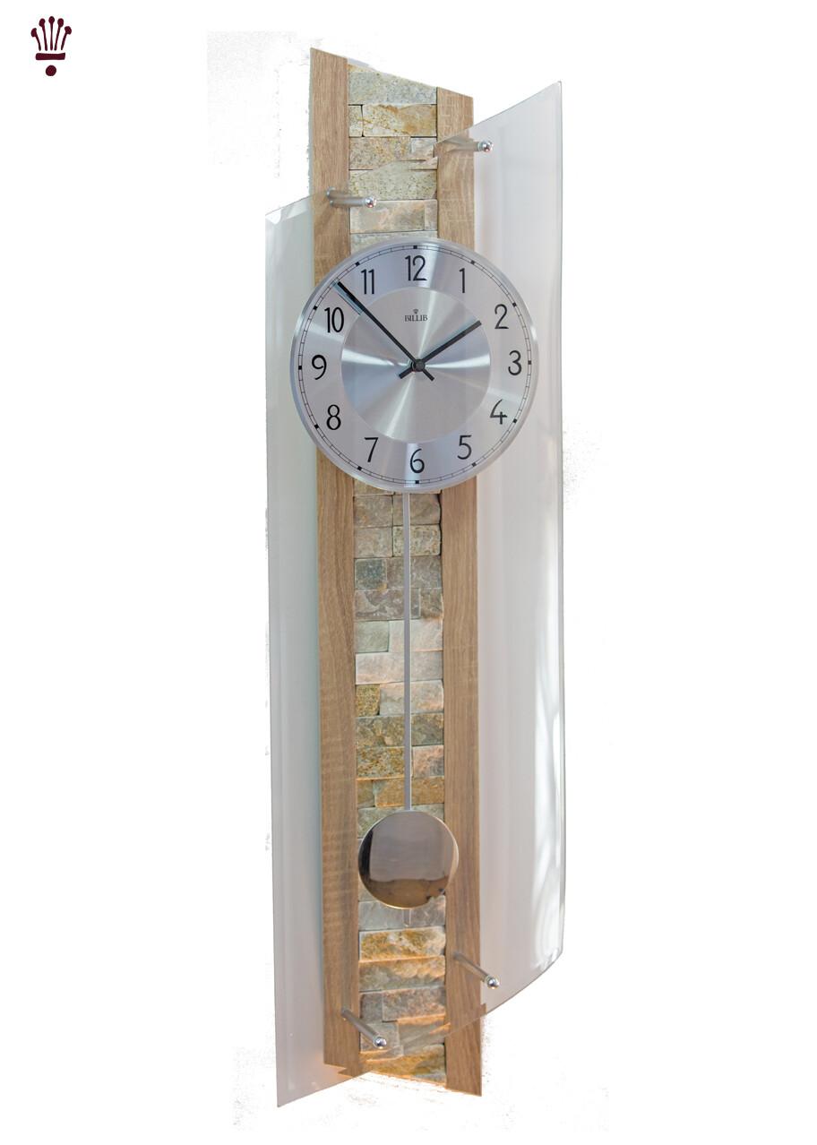 Billib QC 9141 Stylish Tiled Radio Controlled Wall Clock