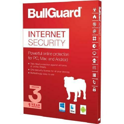 BullGuard internet Security 1 licentie(s) 1 jaar