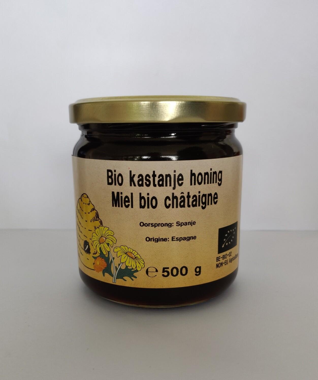 Bio Kastanjehoning 500gr vloeibaar