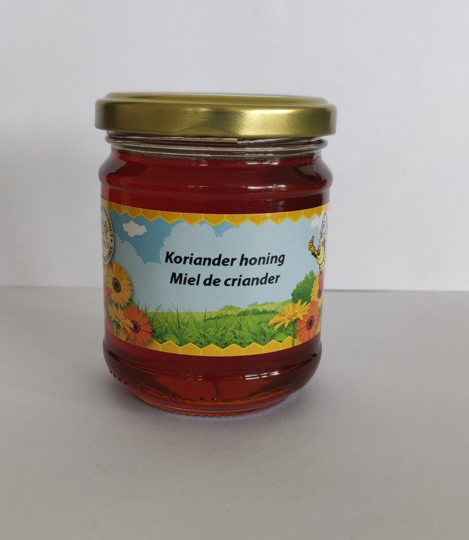 Natuurlijke koriander honing 250gr vloeibaar