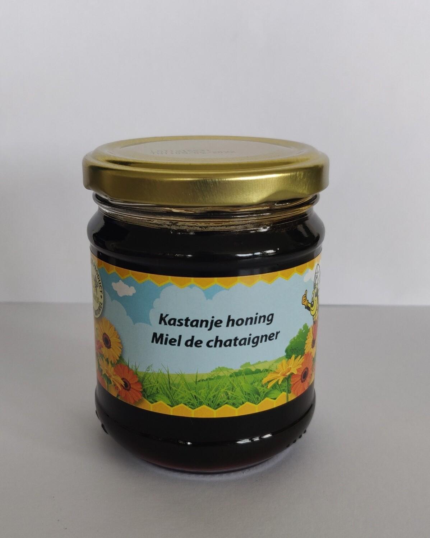 Natuurlijk kastanje honing 250gr vloeibaar