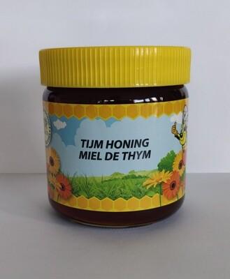Natuurlijk tijm honing 500gr vloeibaar