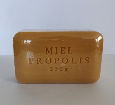 Plantaardige zeep met propolis en honing 250gr