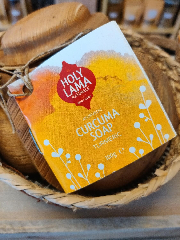 Holly lama Ayurveda curcuma zeep