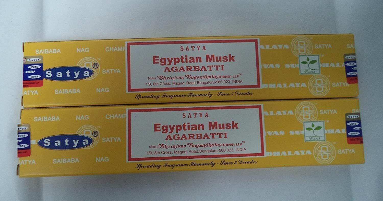 Satya - egyptian musk wierook