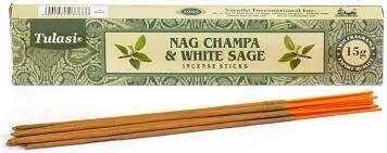 Nag champa & white sage wierook