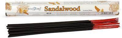 Stamford - sandalwood wierookstokjes