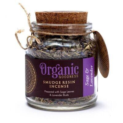 Organic Goodness - Smudge kruid Lavendel en Salie