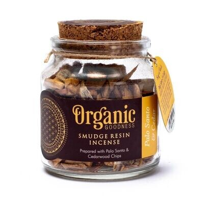 Organic Goodness - Smudge kruid Pablo Santo en Cederhout