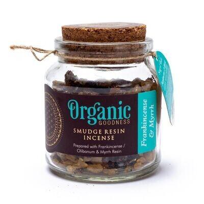 Organic Goodness - Smudge Kruid Frankincense en Mirre