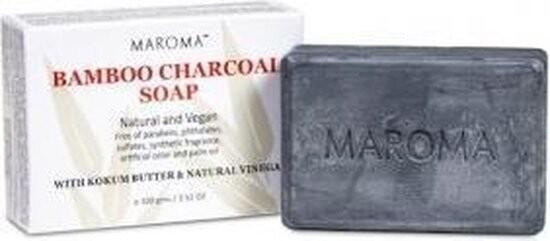 Maroma - Natuurlijke zeep met Bamboe en Houtskool