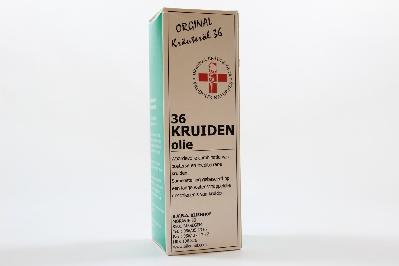 36 Kruidenolie
