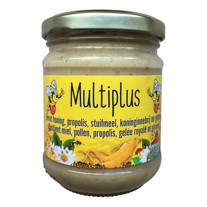 Multiplus - Honing Propolis Stuifmeel Koninginnebrij en Ginseng