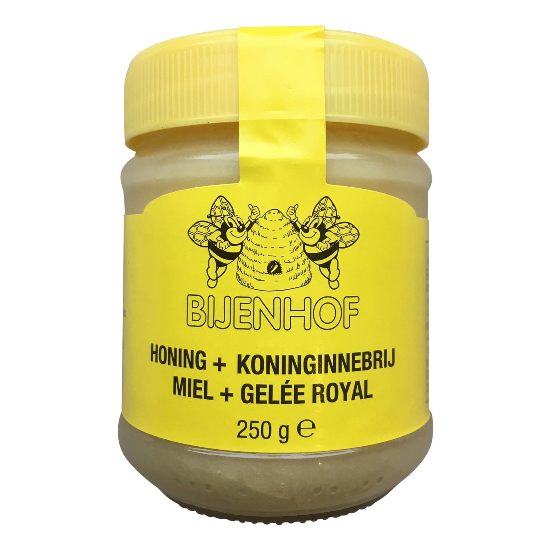 Natuurlijke honing met Koninginnebrij - Bijenhof