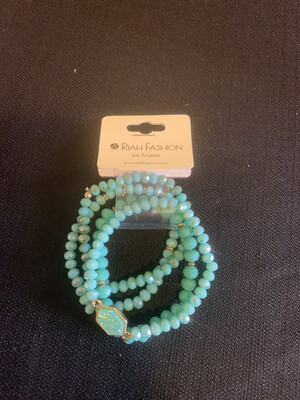 Turquoise Stretch Bracelet Set