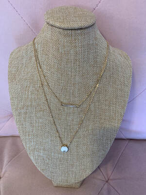 2 Tier Gold Necklace