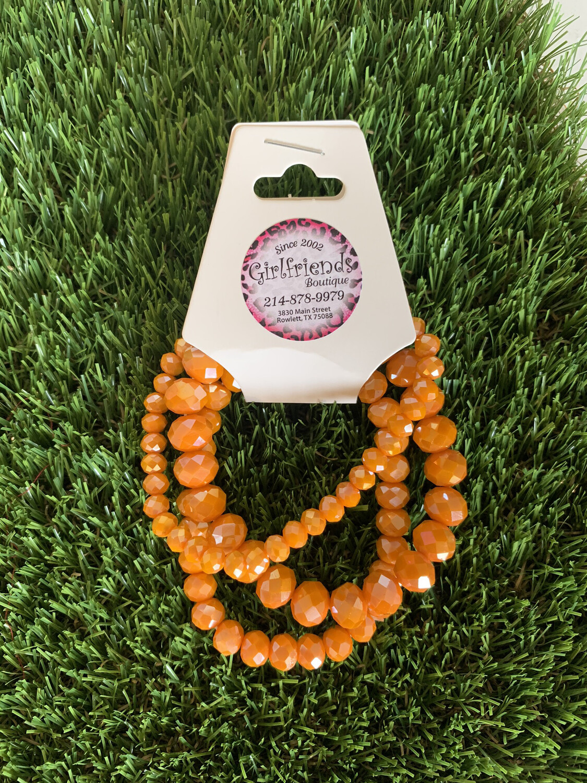 Orange Bracelets
