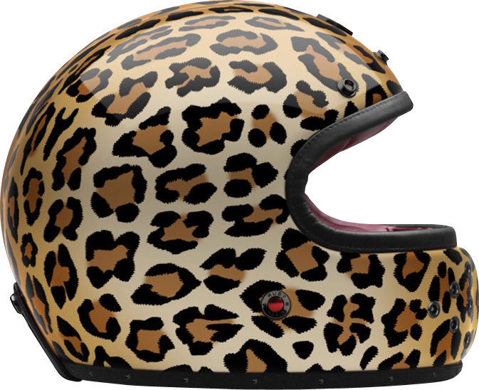 FULL FACE HELMET LEOPARD