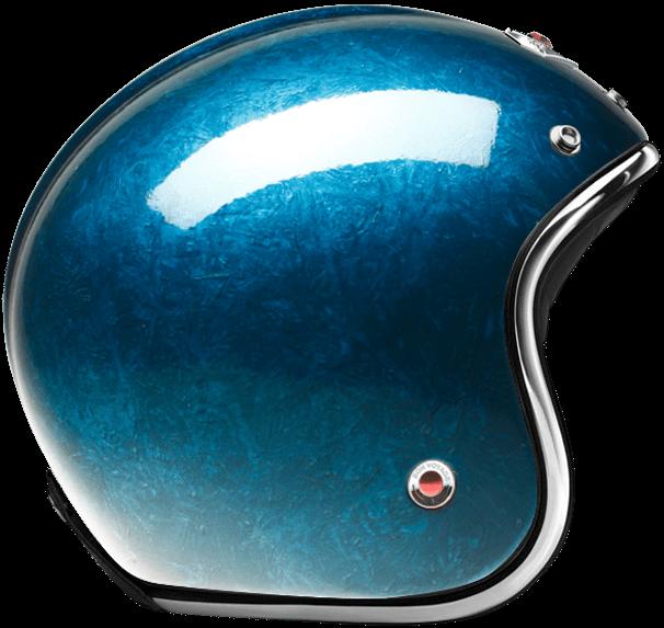 OPEN FACE HELMET PACIFIQUE BLUE