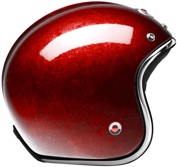 OPEN FACE HELMET PACIFIQUE RED