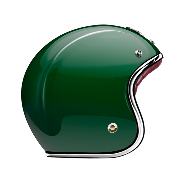 OPEN FACE HELMET EMERALD
