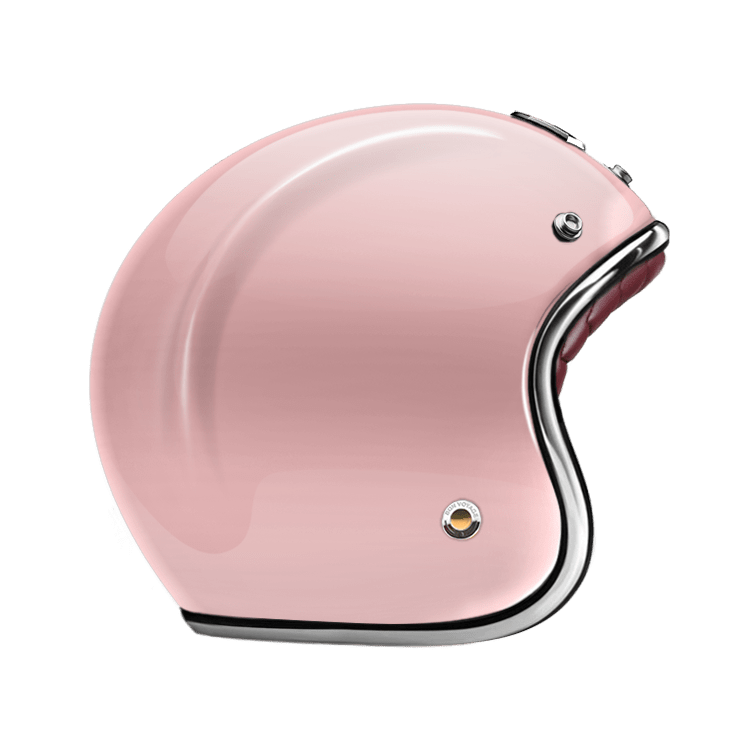 GUANG® - OPEN FACE HELMET ROSE