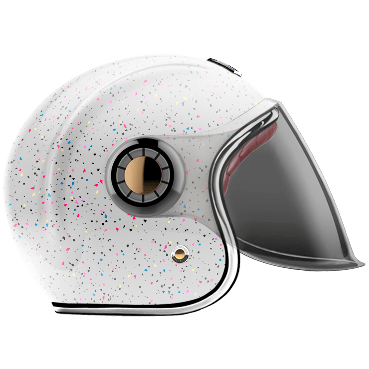 GUANG® - JET HELMET COSMOS WHITE