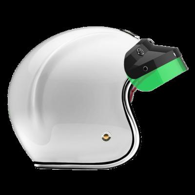 OPEN - FULL FACE HELMET INCLUSIO BLACK GREEN