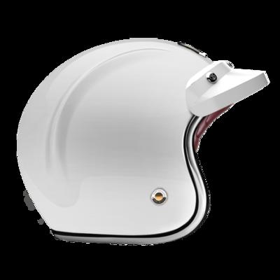 OPEN - FULL FACE HELMET PEAK GLOSSY WHITE