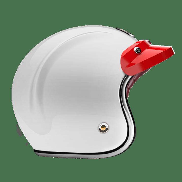 OPEN - FULL FACE HELMET PEAK RACING RED