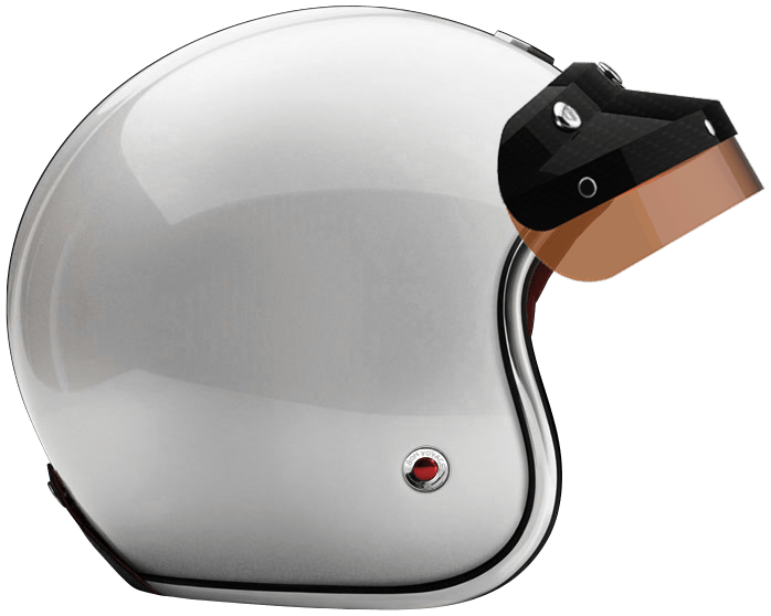 OPEN - FULL FACE HELMET INCLUSIO BLACK BROWN