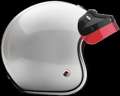 OPEN - FULL FACE HELMET INCLUSIO BLACK RED