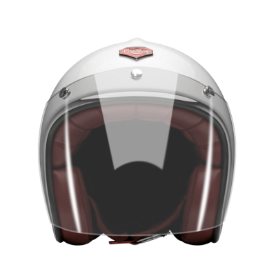 OPEN FACE HELMET VISOR CLEAR