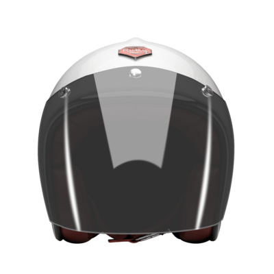OPEN FACE HELMET VISOR DARK