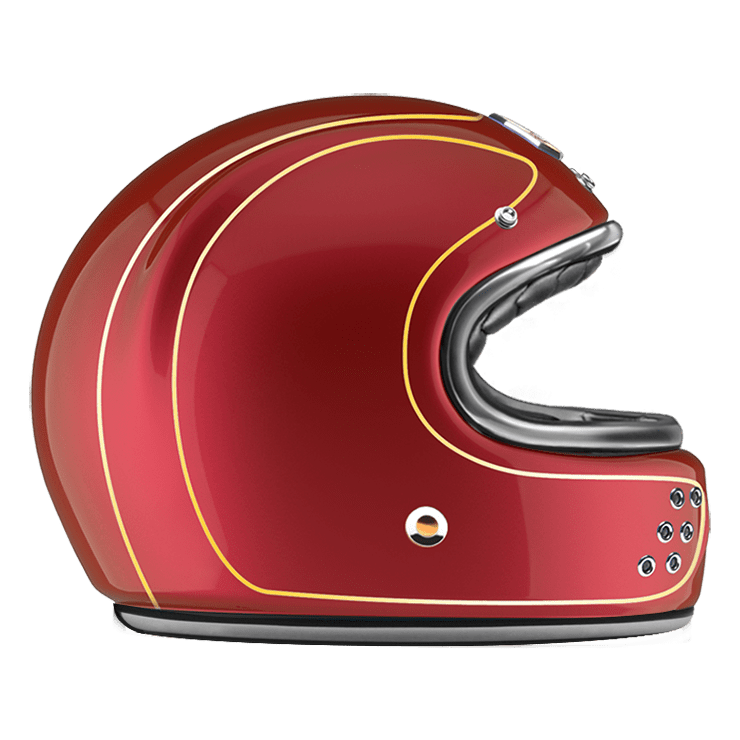 GUANG® - FULL FACE HELMET DETROIT RED
