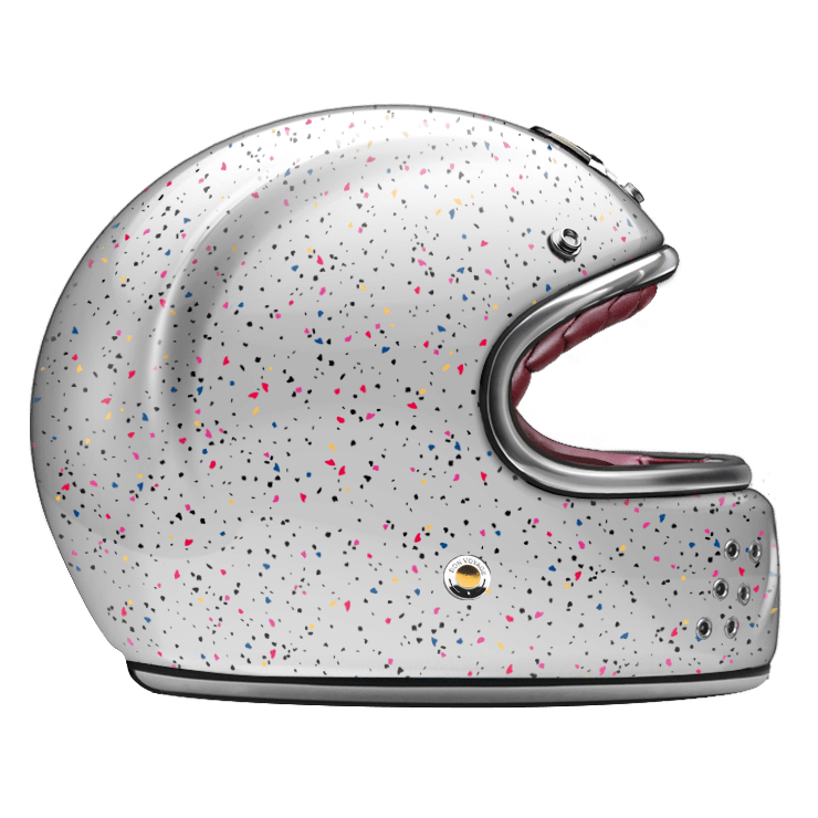 GUANG® - FULL FACE HELMET COSMOS WHITE