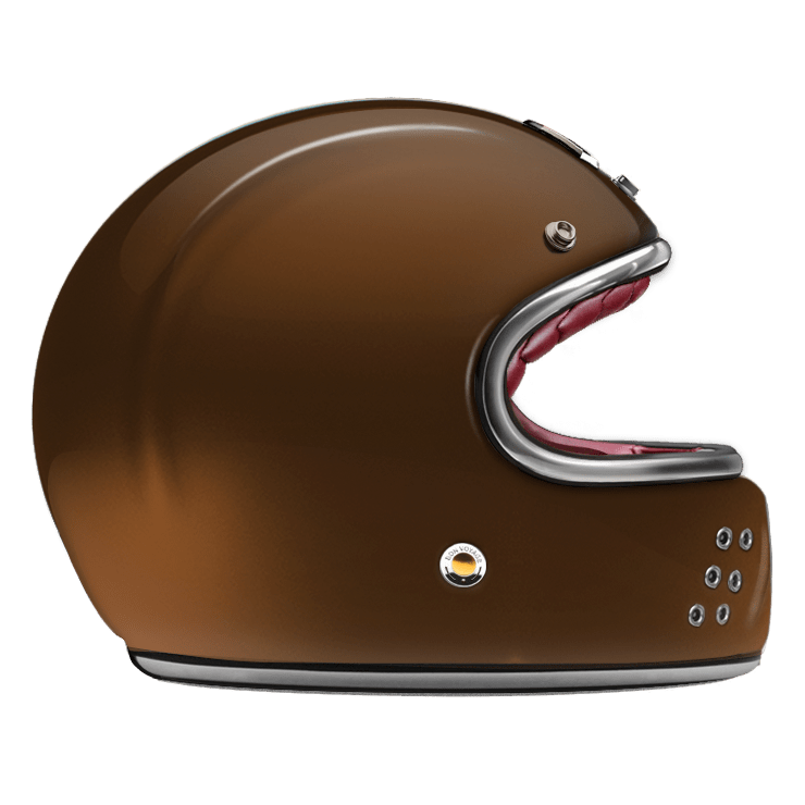 GUANG® - FULL FACE HELMET CAFE