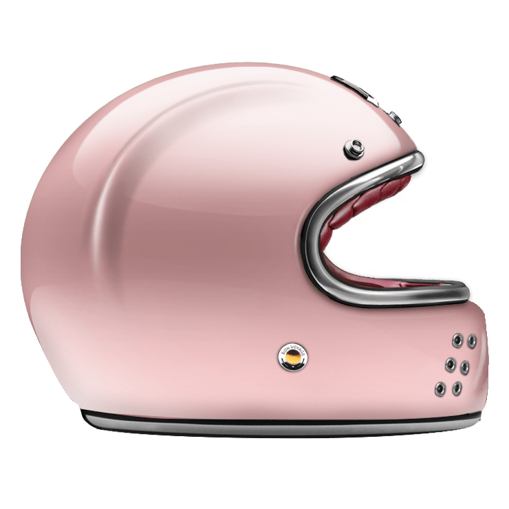 GUANG® - FULL FACE HELMET ROSE