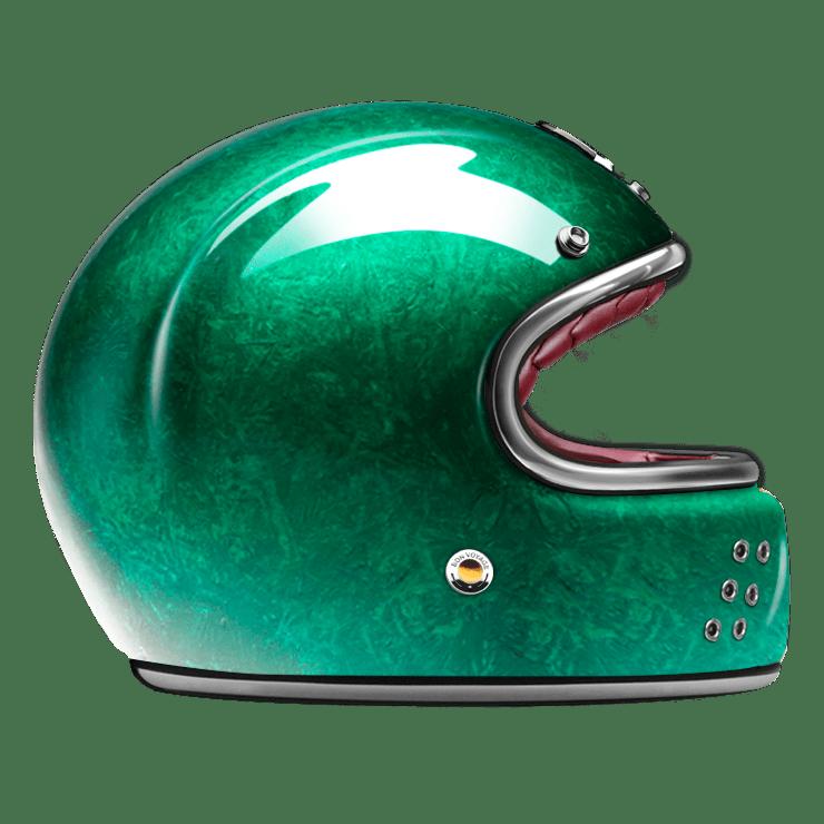 GUANG® - FULL FACE HELMET PACIFIQUE GREEN