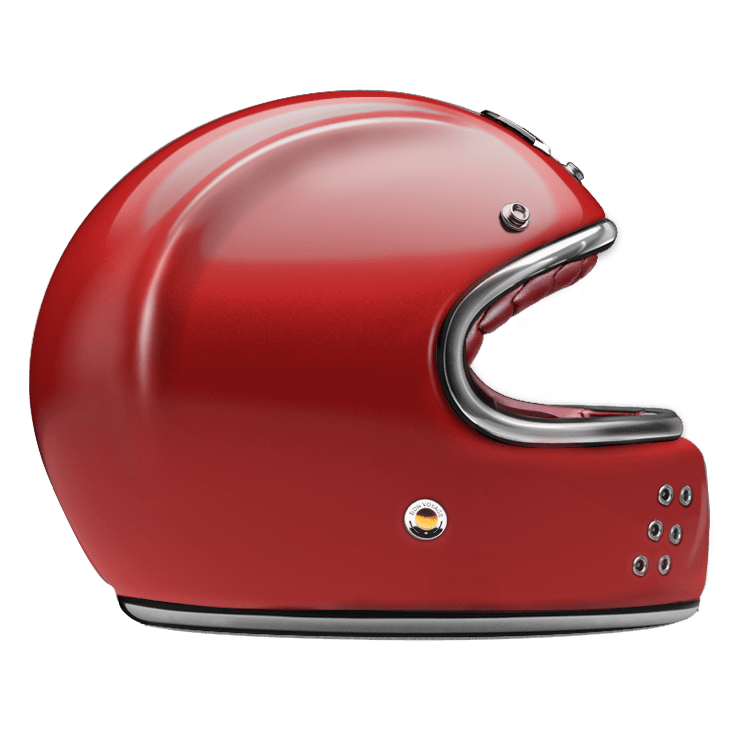 GUANG® - FULL FACE HELMET RUBY