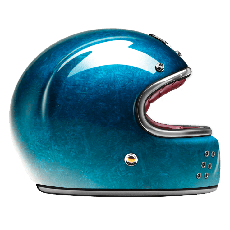 GUANG® - FULL FACE HELMET PACIFIQUE BLUE