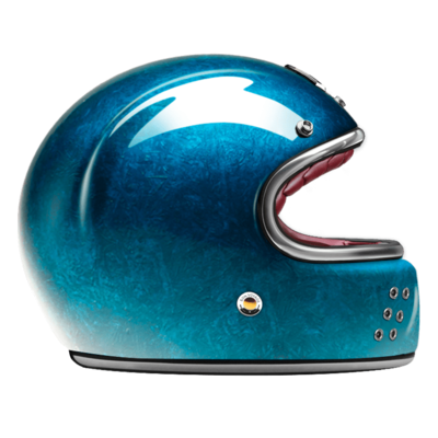 GUANG® - FULL FACE HELMET PACIFIQUE BLUE