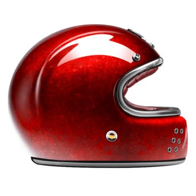 GUANG® - FULL FACE HELMET PACIFIQUE RED