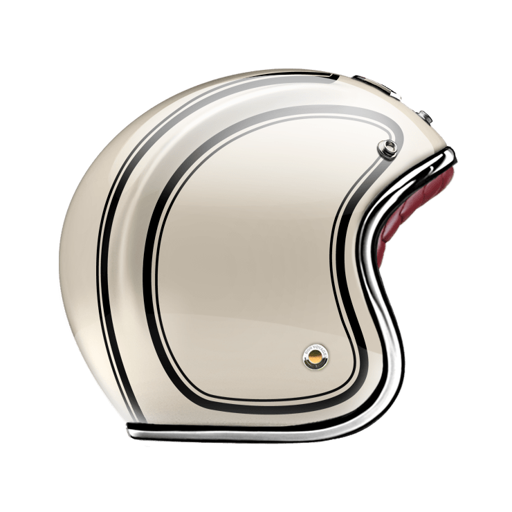 GUANG® - OPEN FACE HELMET GYPSUM