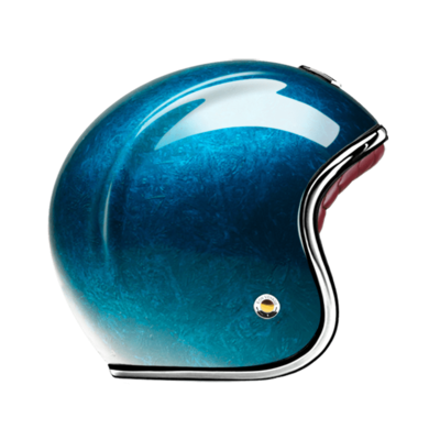 GUANG® - OPEN FACE HELMET PACIFIQUE BLUE