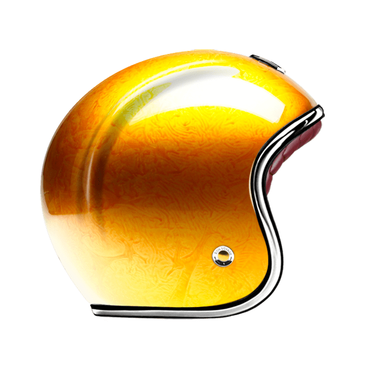 GUANG® - OPEN FACE HELMET PACIFIQUE GOLD