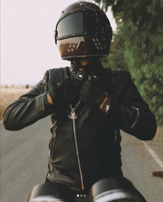 GUANG® - Alex Guang L'Eclaireur (Men) Leather Jacket