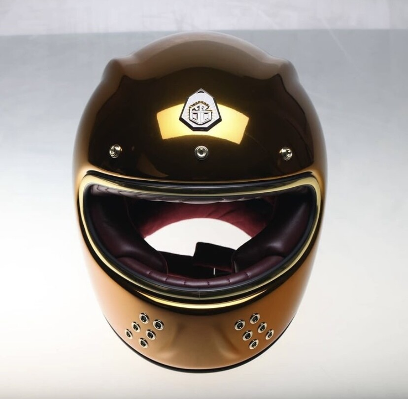 GUANG® - FULL FACE HELMET GOLDEN EYE - SPECIAL EDITION