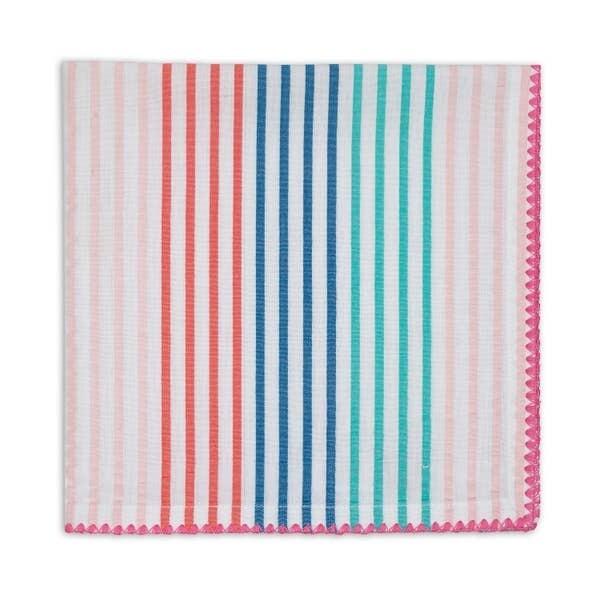 Striped Seersucker Napkins 20x20