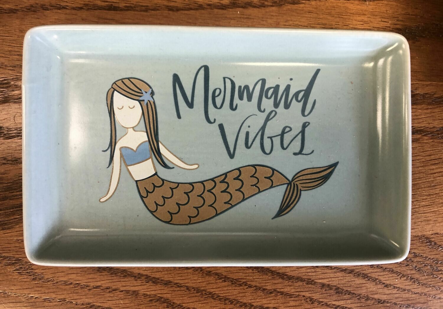 mermaid porcelain ring dish